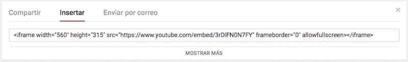 Youtube のビデオを web ページに挿入する方法 - イメージ 2 - 教授-falken.com