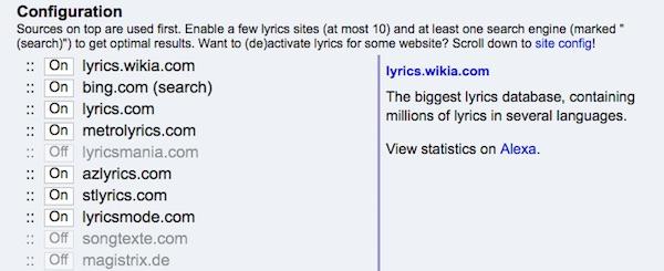 Как отображать тексты песен на Youtube в вашем браузере, Last.FM, Spotify и многое другое - Изображение 2 - Профессор falken.com