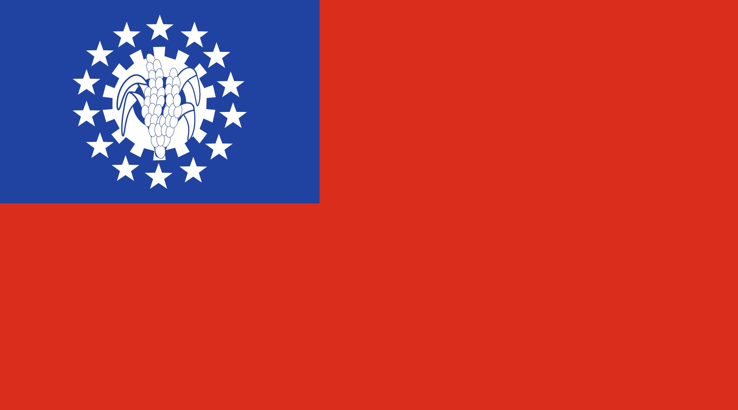بورما, البلد, emblema, شعار, الرمز - خلفيات عالية الدقة - أستاذ falken.com