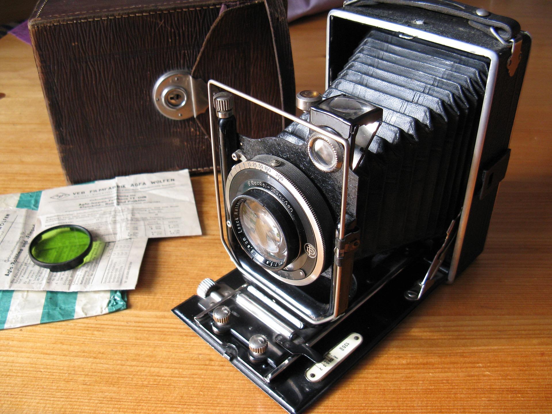 Kamera, Jahrgang, alt, Foto-Kamera, Erinnerungen, Fotografie - Wallpaper HD - Prof.-falken.com