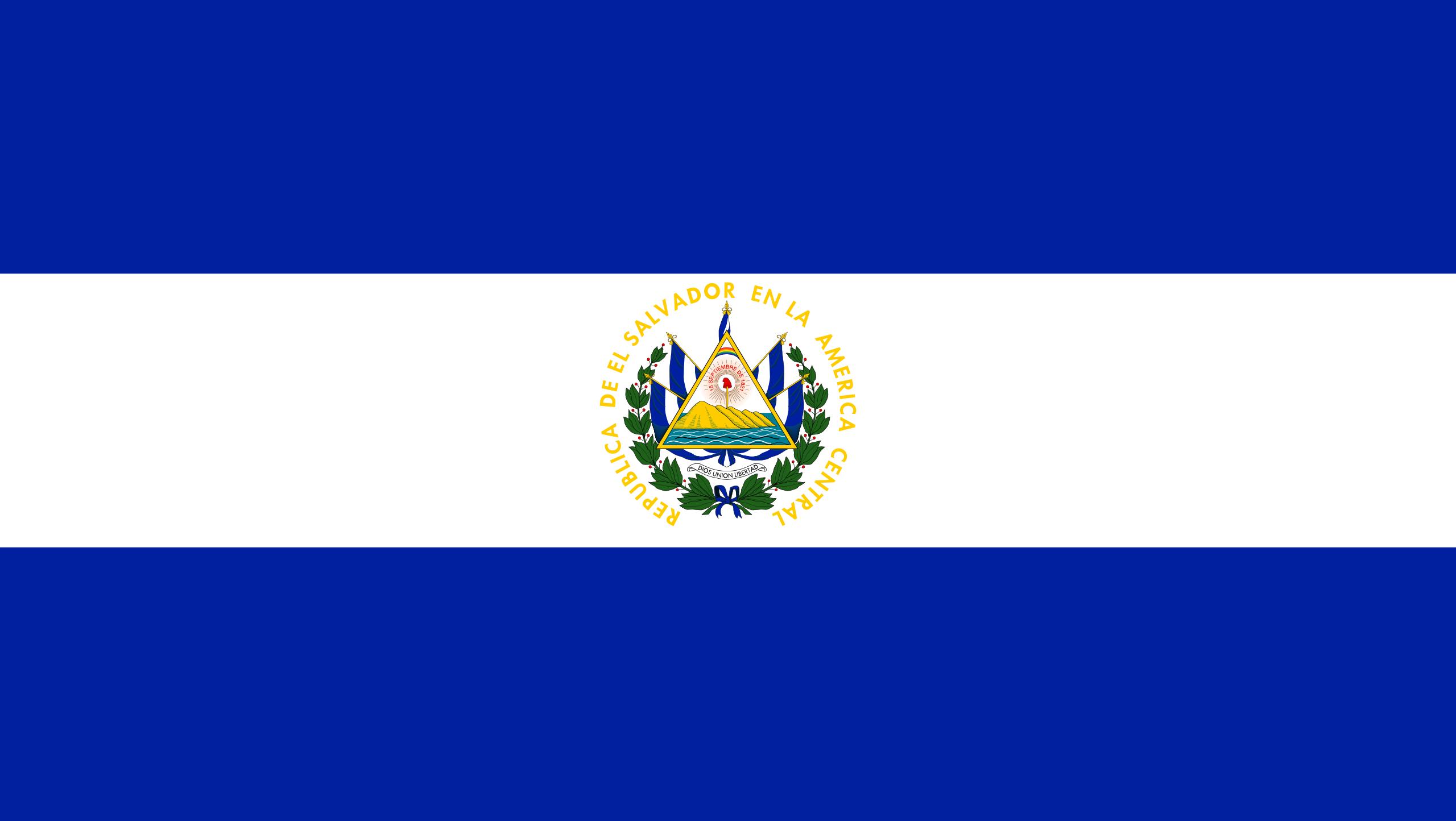 Salvador, pays, emblème, logo, symbole - Fonds d'écran HD - Professor-falken.com