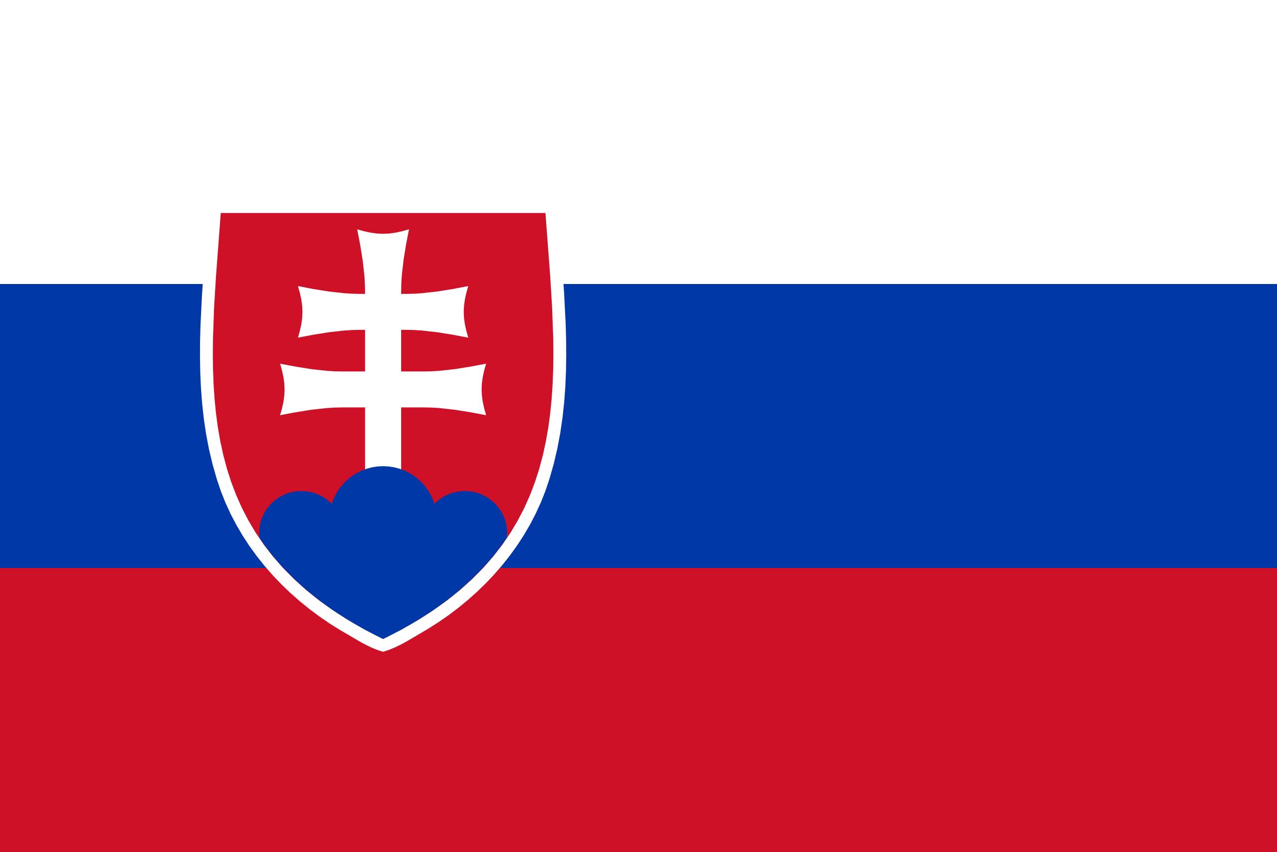 Словакия, страна, Эмблема, логотип, символ - Обои HD - Профессор falken.com
