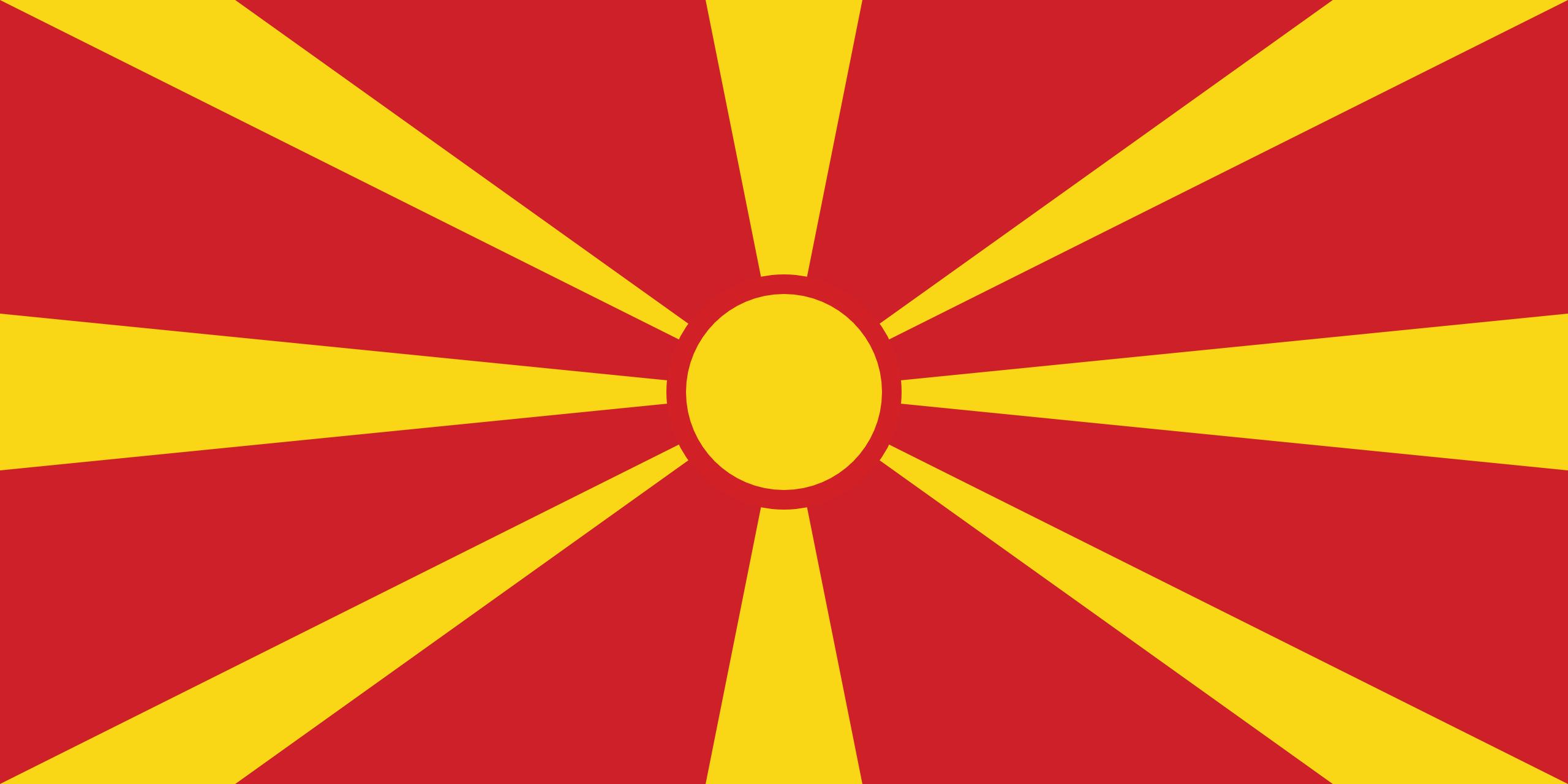 macedonia, страна, Эмблема, логотип, символ - Обои HD - Профессор falken.com
