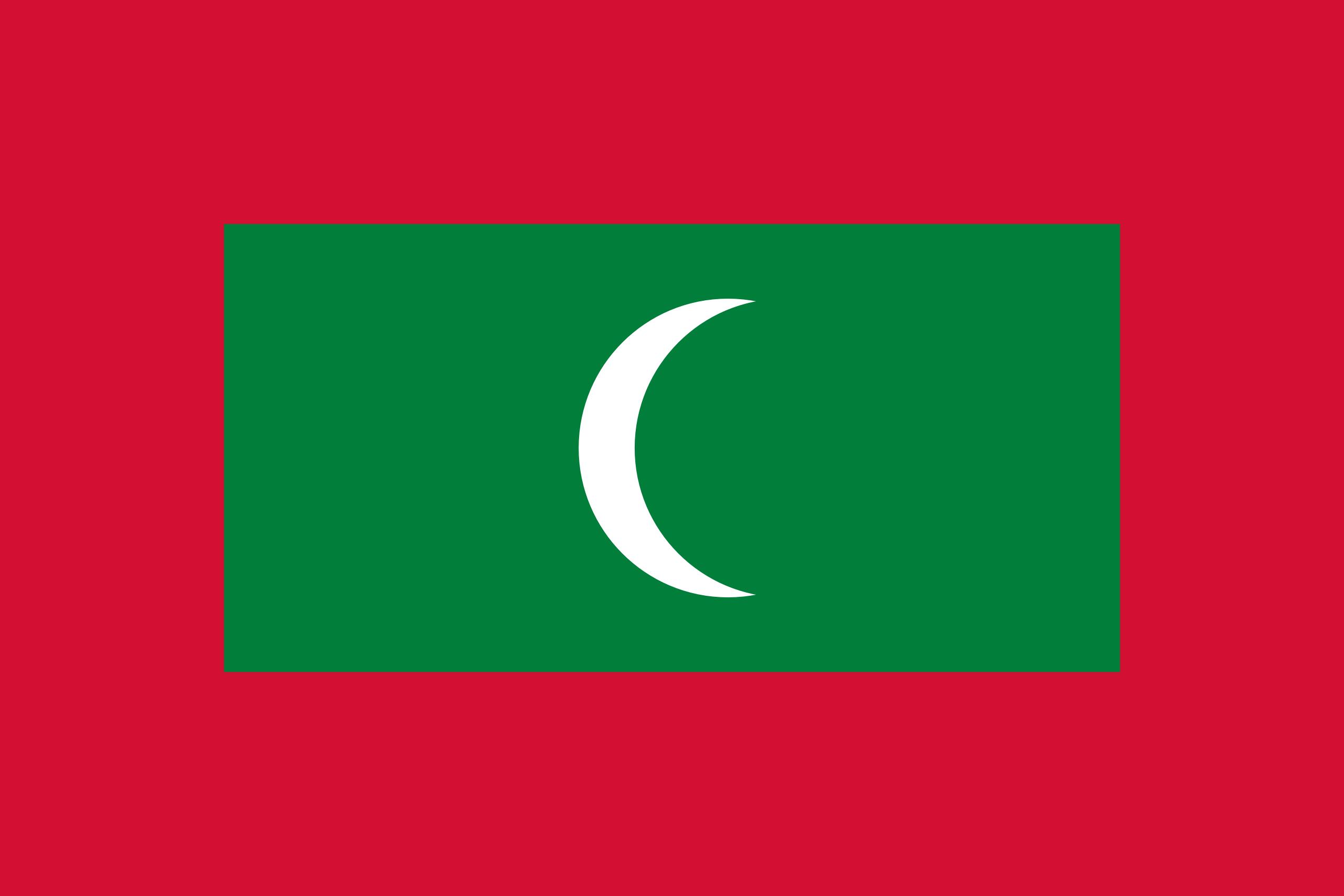 Maldives, pays, emblème, logo, symbole - Fonds d'écran HD - Professor-falken.com