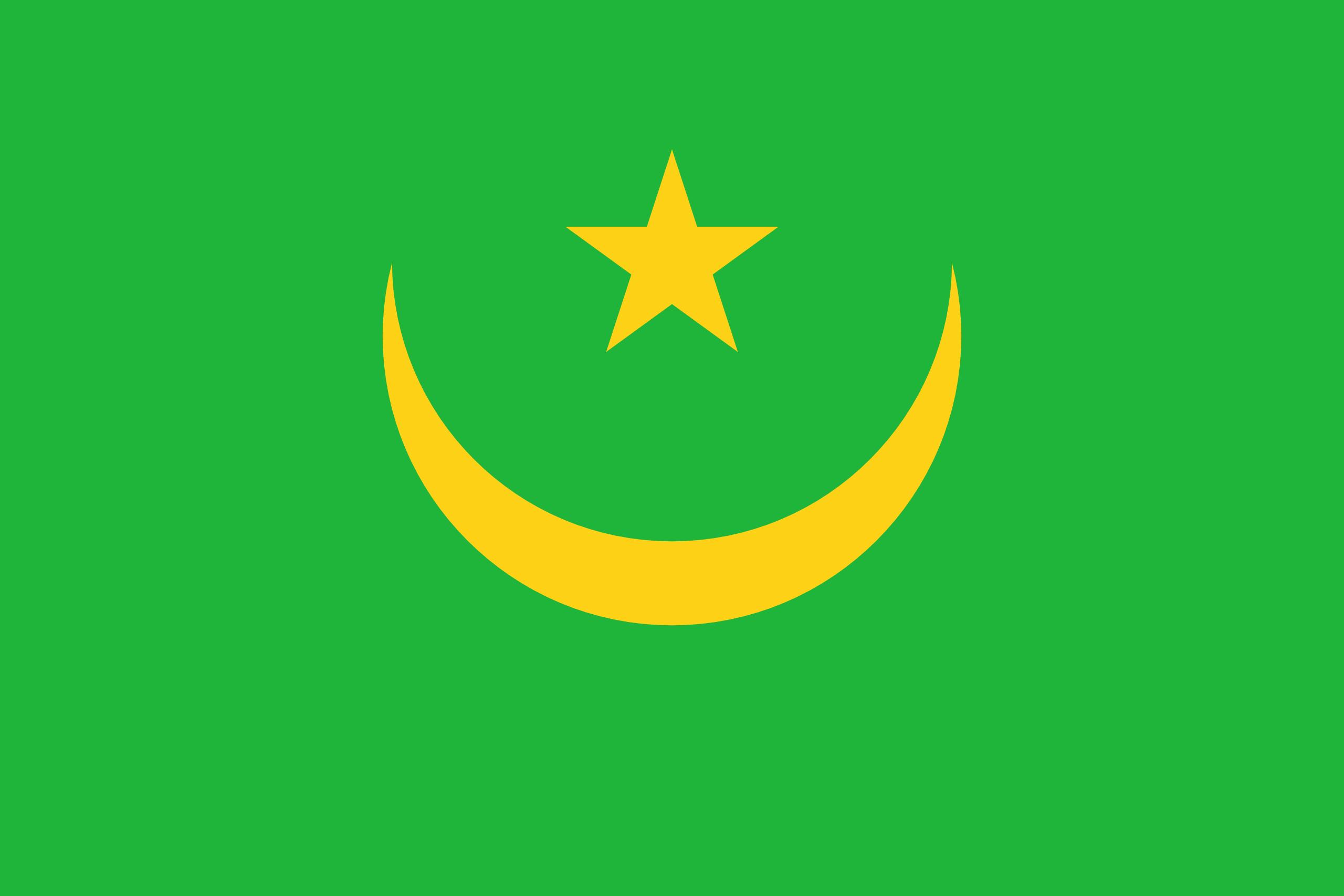 Mauretanien, Land, Emblem, Logo, Symbol - Wallpaper HD - Prof.-falken.com