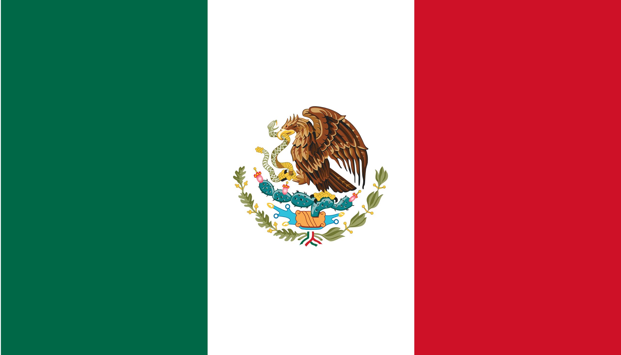 México, país, Brasão de armas, logotipo, símbolo - Papéis de parede HD - Professor-falken.com
