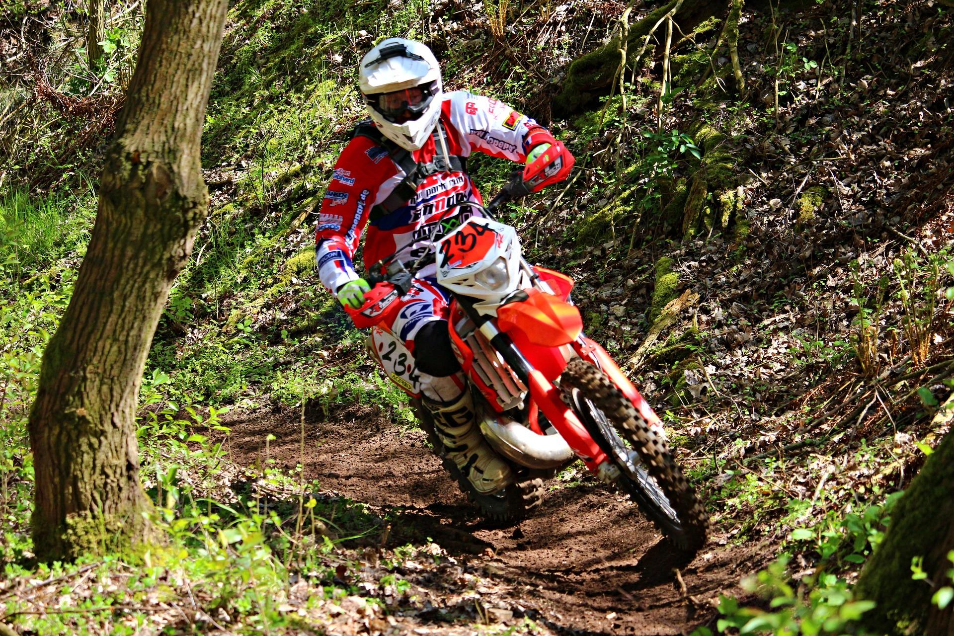 moto, Enduro,  Motocross, risque, domaine, casque - Fonds d'écran HD - Professor-falken.com
