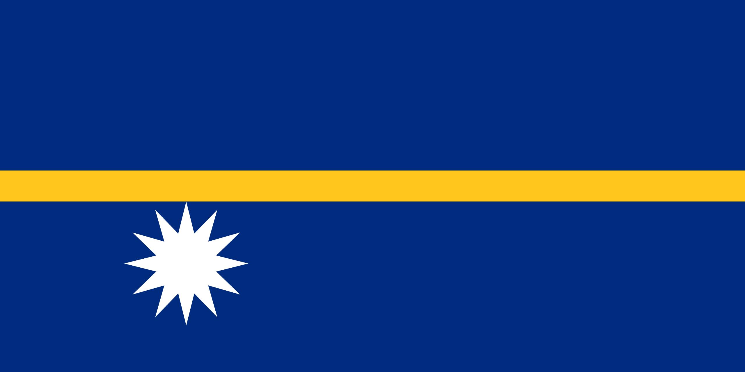 Nauru, pays, emblème, logo, symbole - Fonds d'écran HD - Professor-falken.com