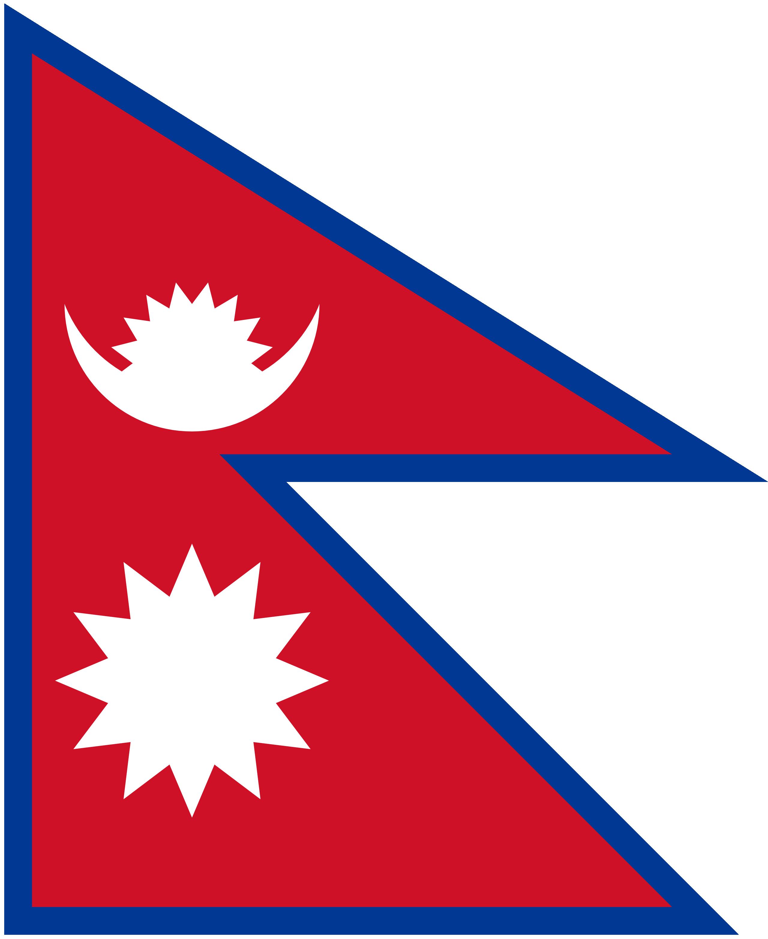 Nepal, país, Brasão de armas, logotipo, símbolo - Papéis de parede HD - Professor-falken.com