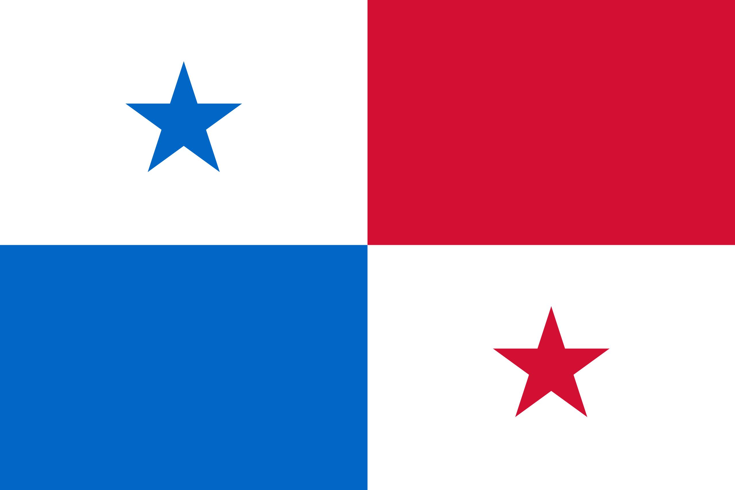 Панама, страна, Эмблема, логотип, символ - Обои HD - Профессор falken.com