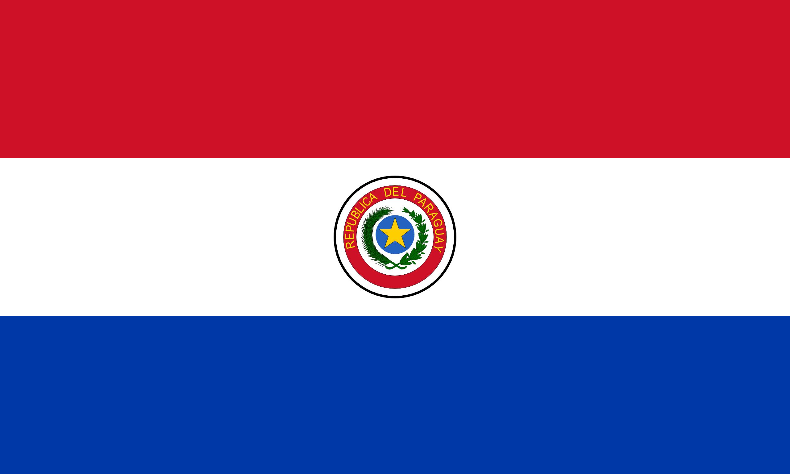 paraguay, 国, エンブレム, ロゴ, シンボル - HD の壁紙 - 教授-falken.com