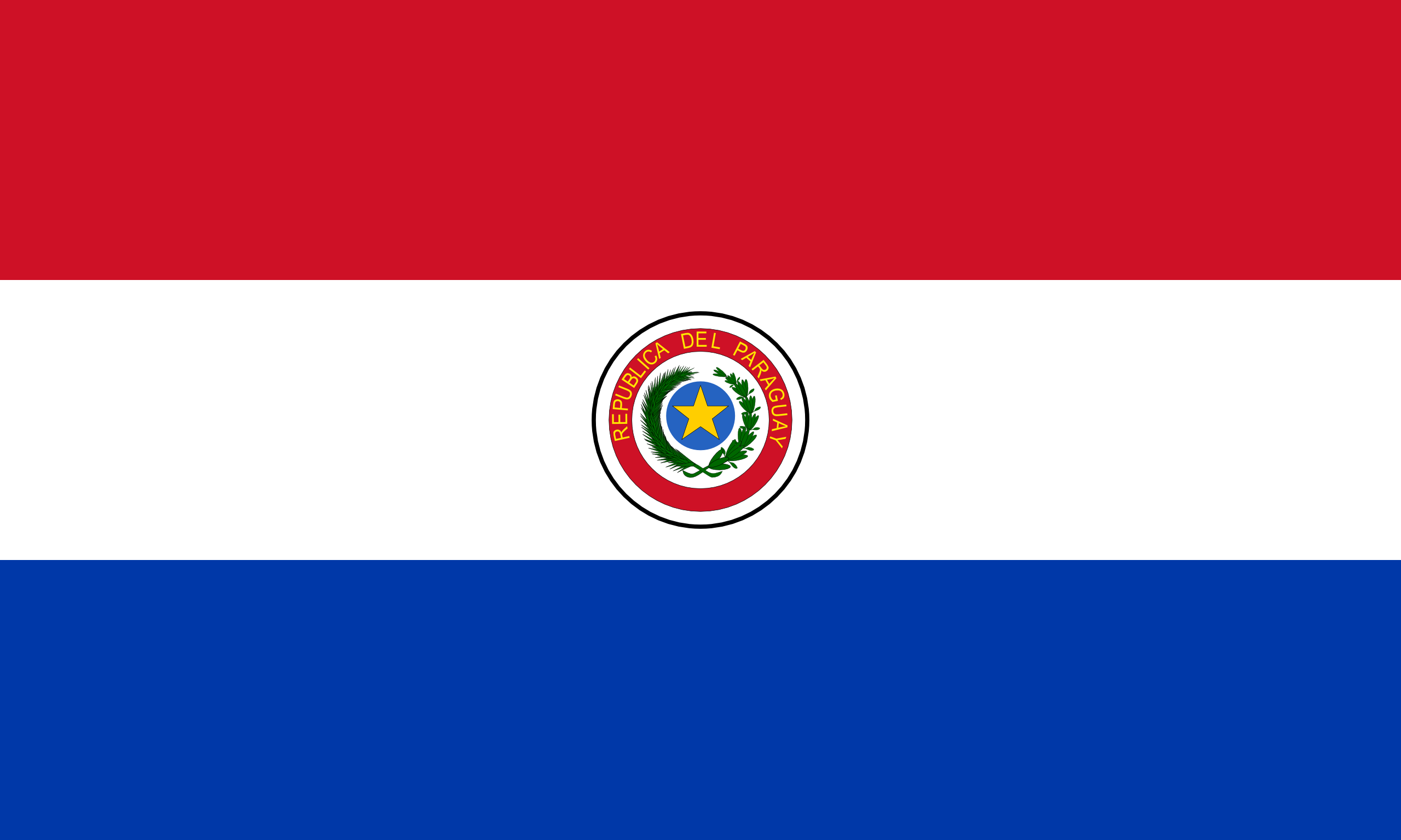 Парагвай, страна, Эмблема, логотип, символ - Обои HD - Профессор falken.com