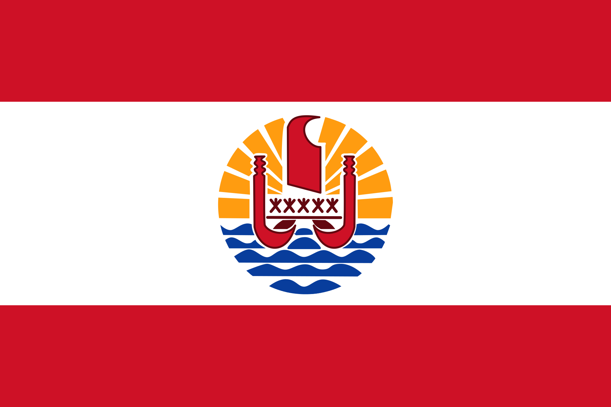 Французская Полинезия, страна, Эмблема, логотип, символ - Обои HD - Профессор falken.com
