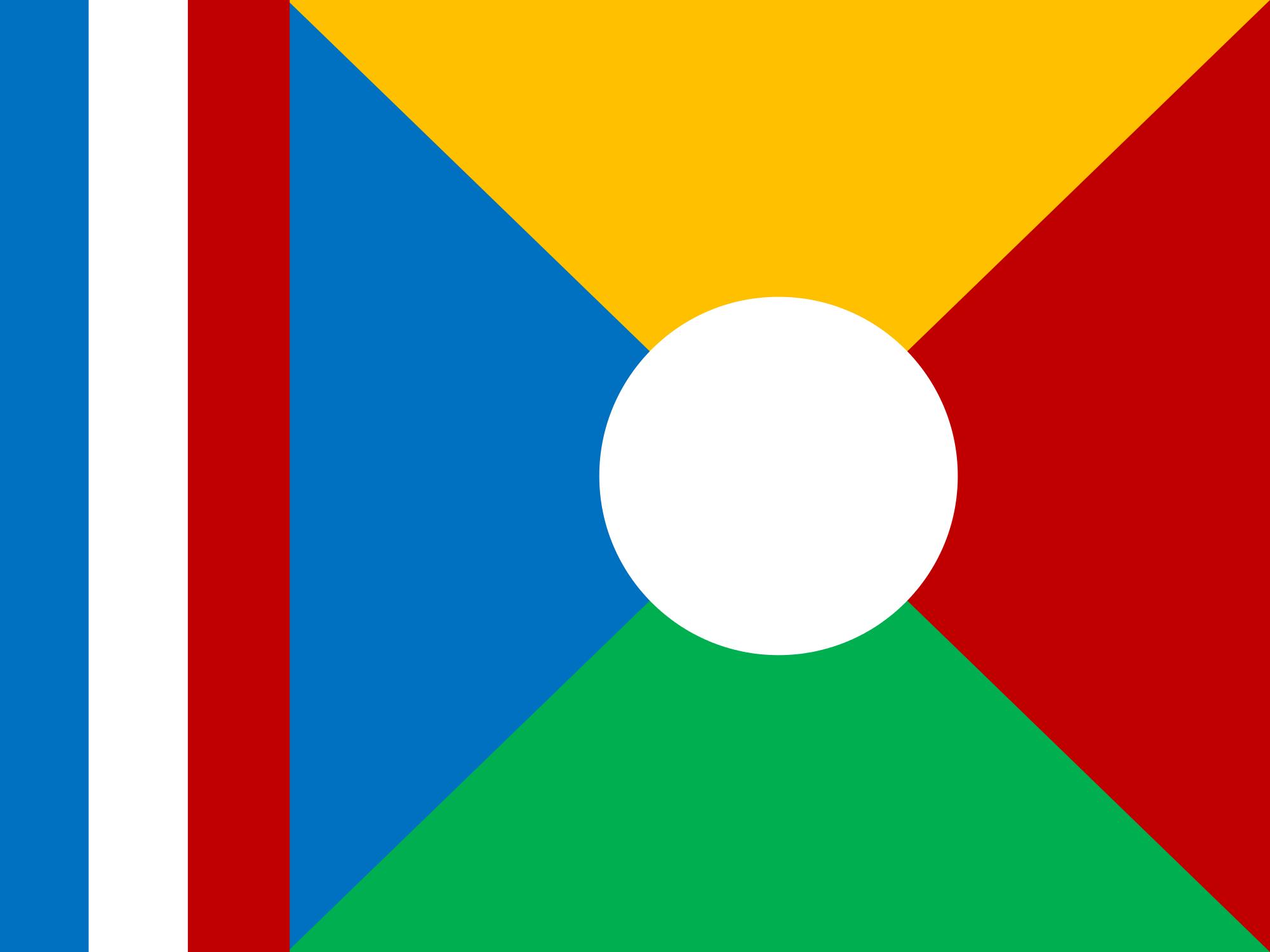 réunion, pays, emblème, logo, symbole - Fonds d'écran HD - Professor-falken.com