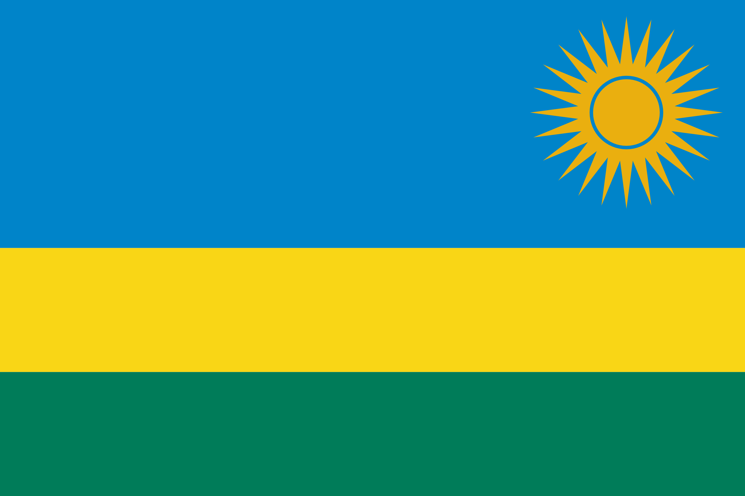 ruanda, χώρα, έμβλημα, λογότυπο, σύμβολο - Wallpapers HD - Professor-falken.com