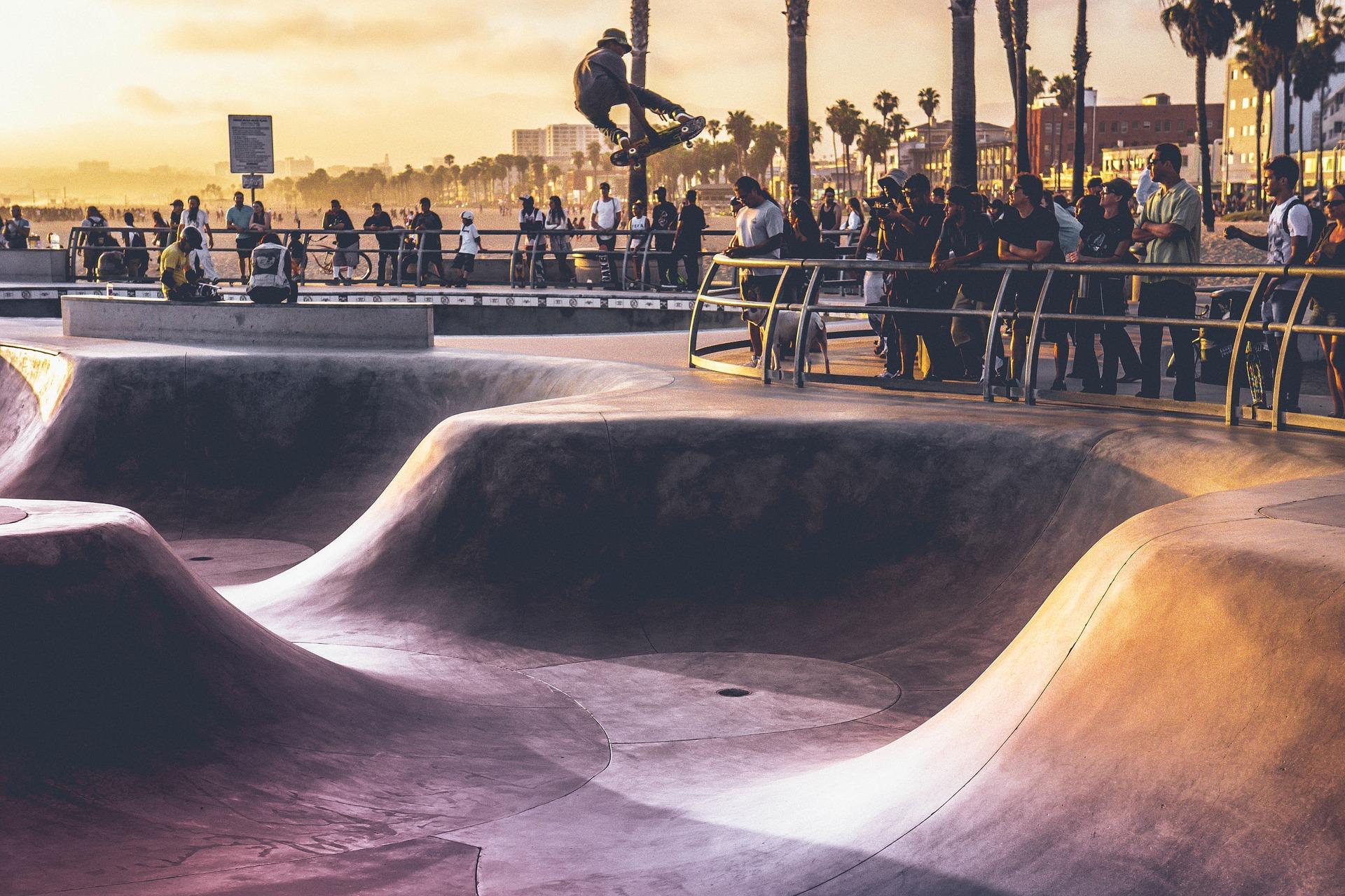 滑冰, 滑板, 广场, 公园, 人, 风险, 跳转 - 高清壁纸 - 教授-falken.com