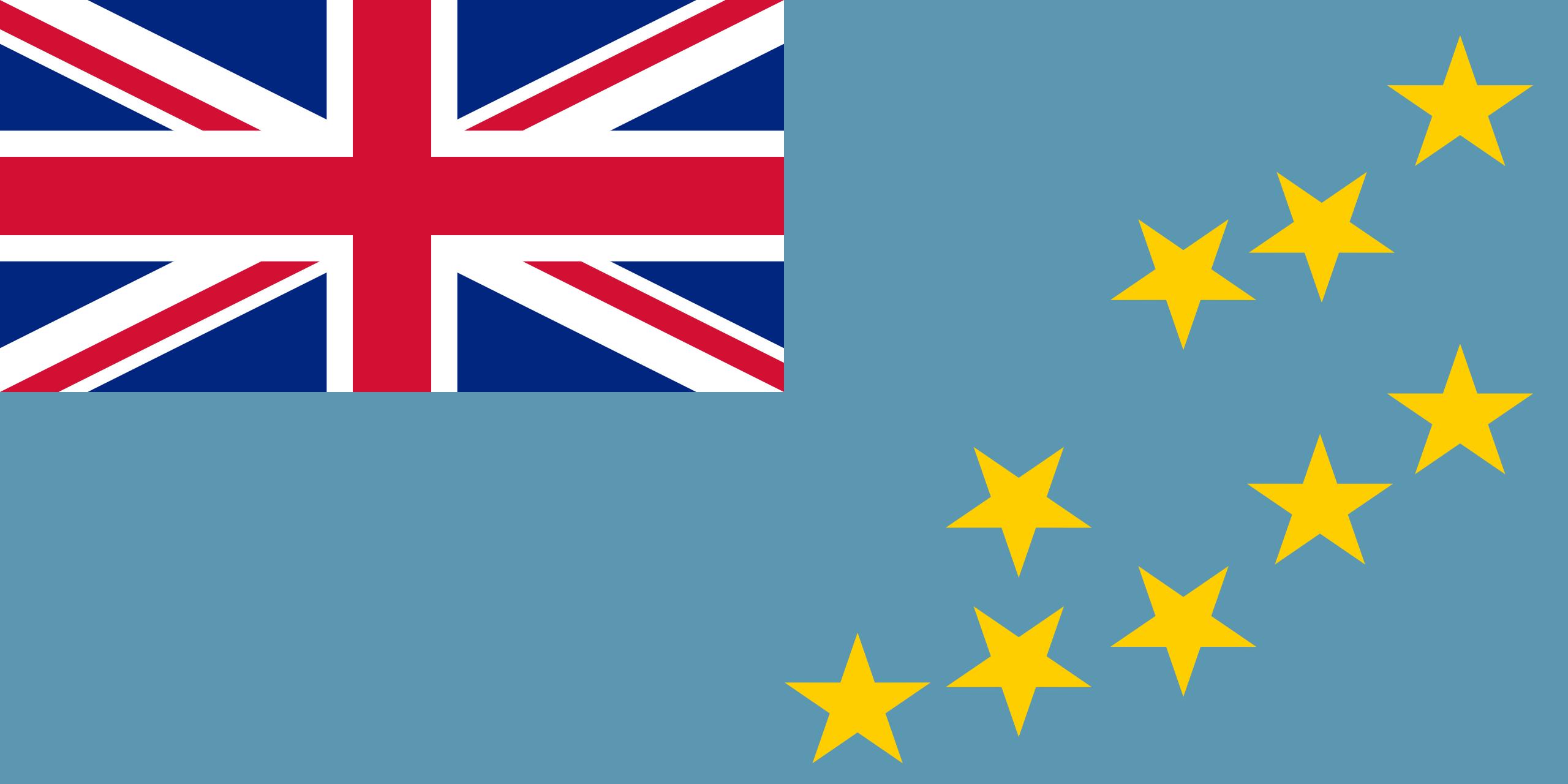 Tuvalu, pays, emblème, logo, symbole - Fonds d'écran HD - Professor-falken.com