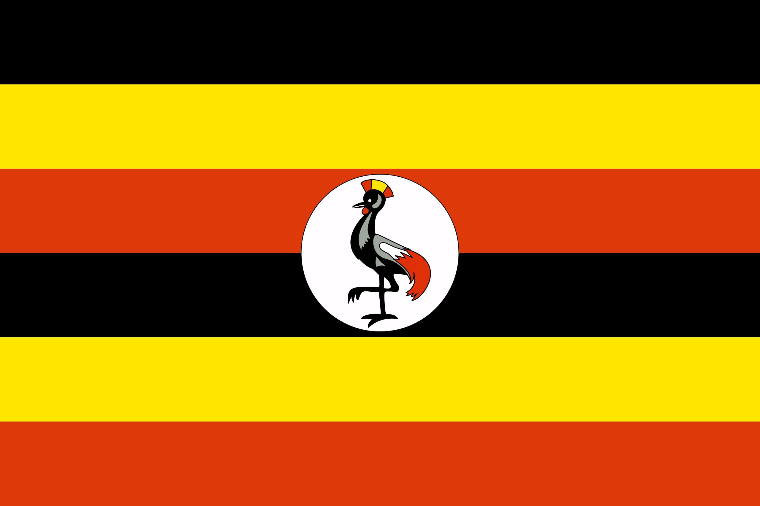 乌干达, 国家, 会徽, 徽标, 符号 - 高清壁纸 - 教授-falken.com