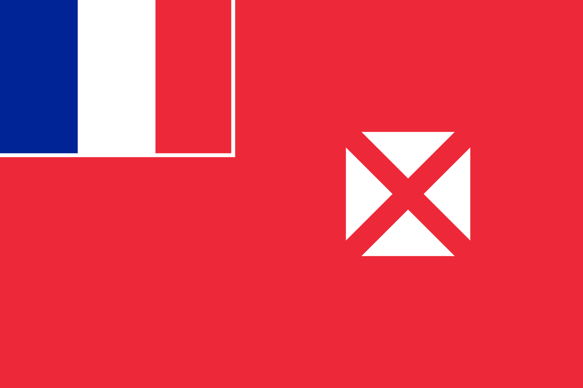 Уоллис и Футуна, страна, Эмблема, логотип, символ - Обои HD - Профессор falken.com