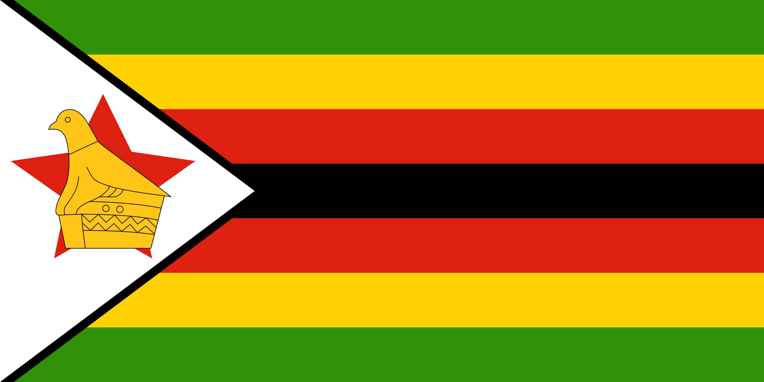 Zimbábue, país, Brasão de armas, logotipo, símbolo - Papéis de parede HD - Professor-falken.com