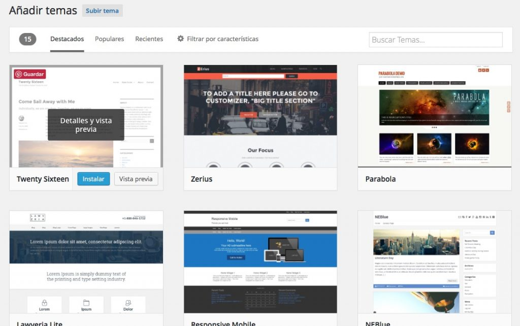 कैसे अपने WordPress वेबसाइट की विषयवस्तु परिवर्तित करने के लिए - छवि 3 - प्रोफेसर-falken.com