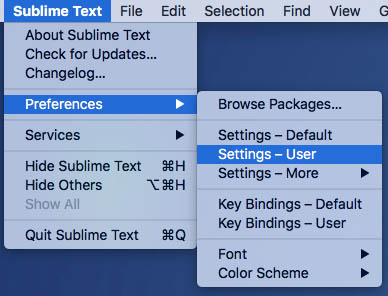 Come visualizzare la corrente una codifica di file di testo Sublime 3 - Immagine 1 - Professor-falken.com