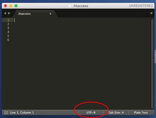 Come visualizzare la corrente una codifica di file di testo Sublime 3 - Immagine 3 - Professor-falken.com