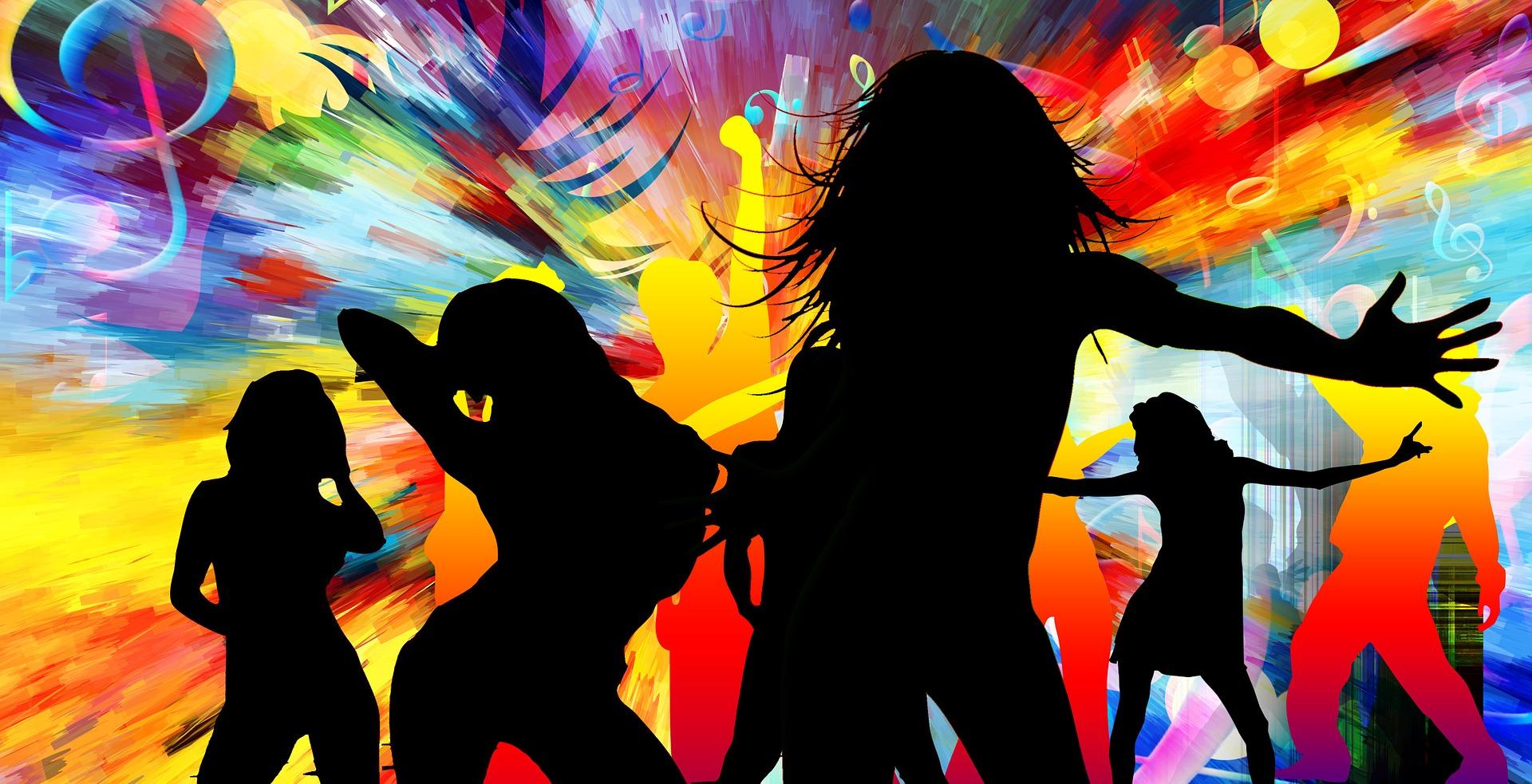 baile, ダンス, ディスク, パーティー, リズム, 女性, 違います。, 色 - HD の壁紙 - 教授-falken.com