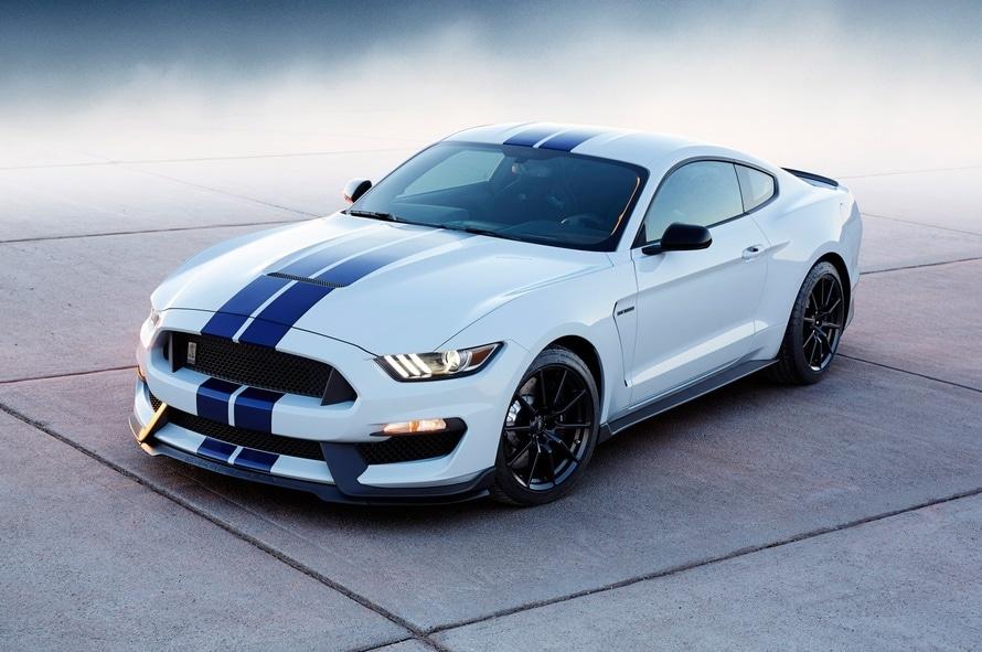 coche, coche deportivo, ford, shelby mustang, blanco - Fondos de Pantalla HD - professor-falken.com