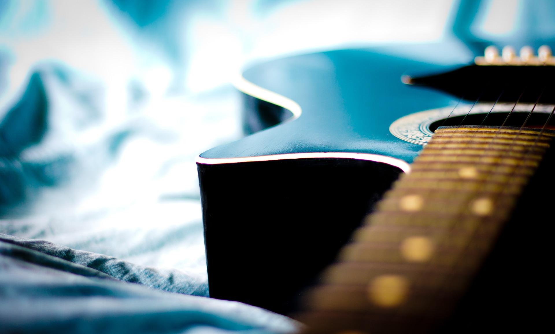 Κιθάρα, συμβολοσειρές, τραγούδι, δημιουργικότητα, τέχνη, χορδή - Wallpapers HD - Professor-falken.com