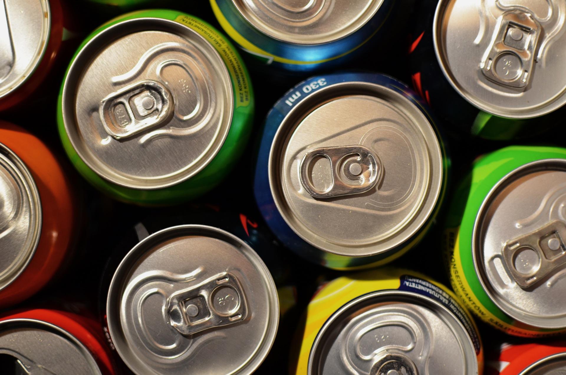 latas, refrescos, bebidas, anillas, colores, supermercado, tienda - Fondos de Pantalla HD - professor-falken.com