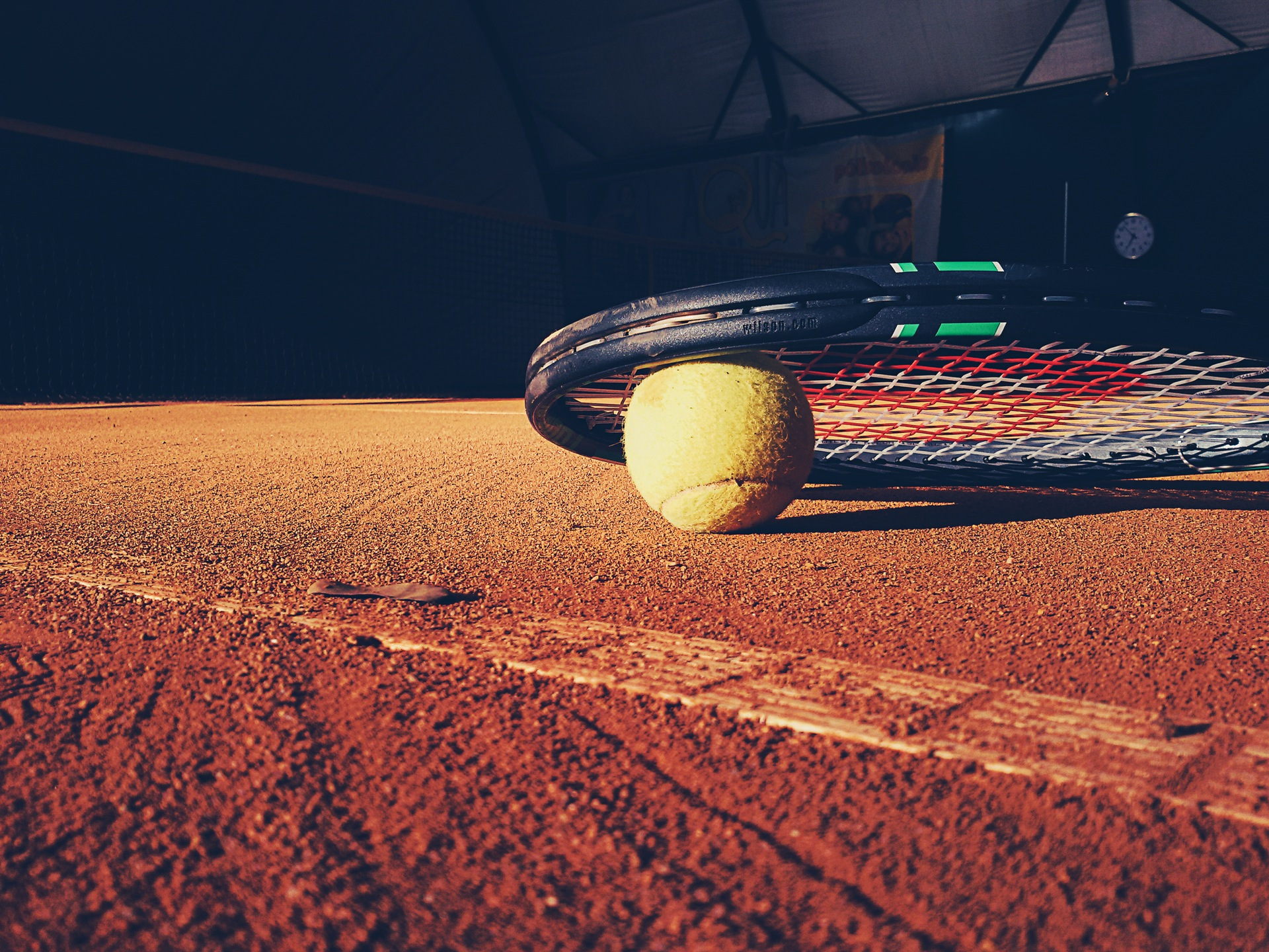 balle de tennis, Tennis, raquette, Court de tennis, sable, Ball, domaine - Fonds d'écran HD - Professor-falken.com
