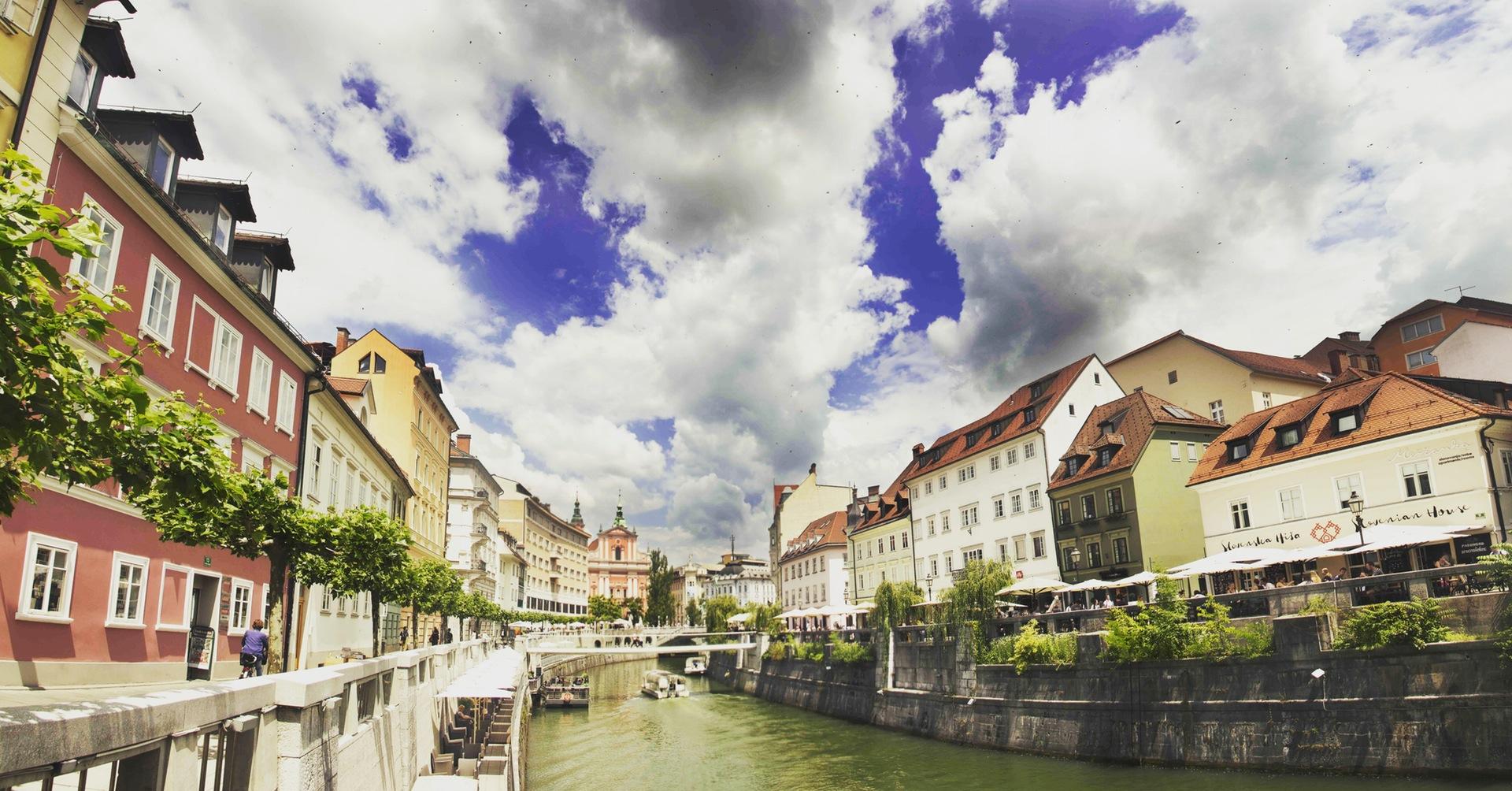 गांव, नदी, मकान, पानी, बादल - HD वॉलपेपर - प्रोफेसर-falken.com