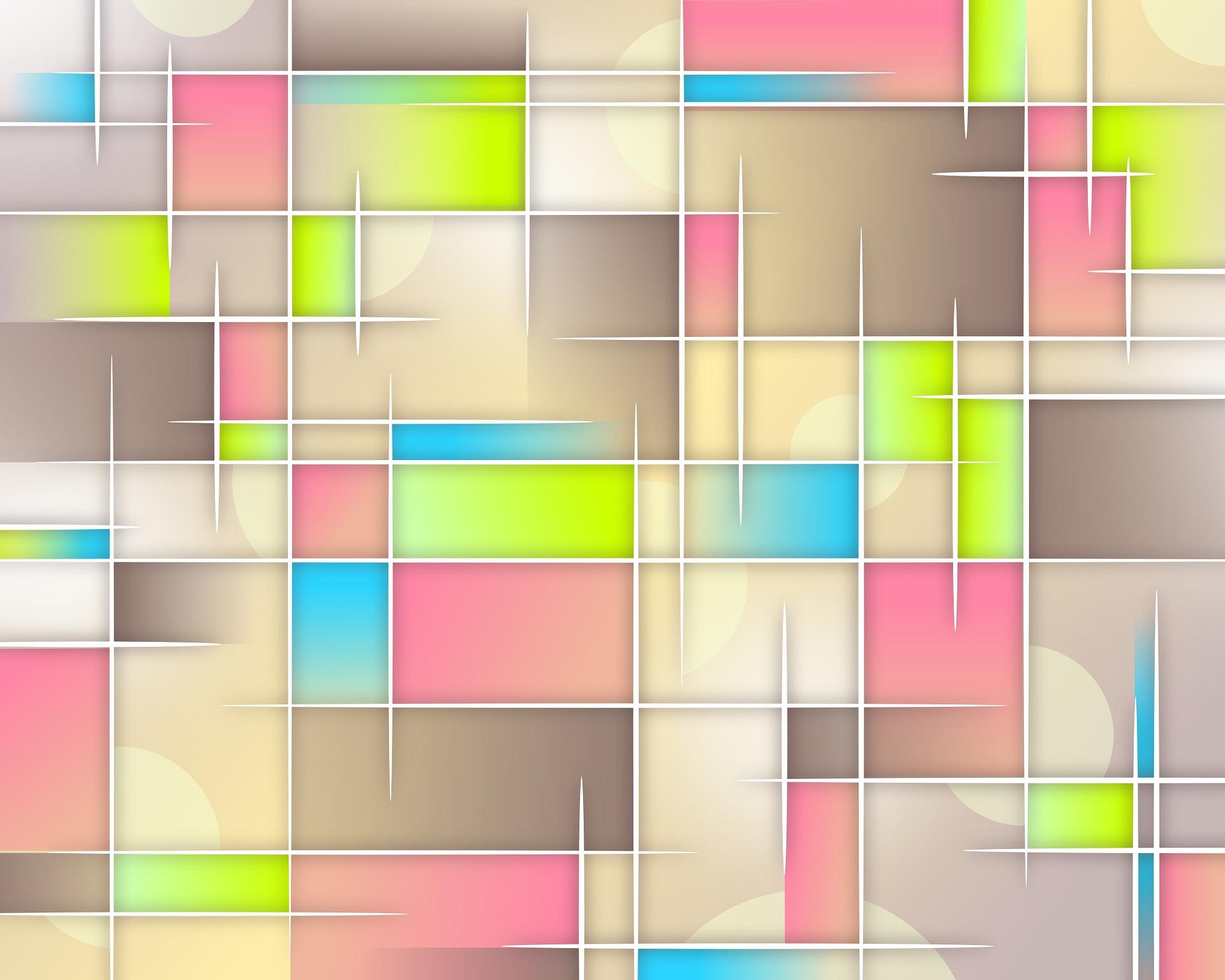 red, colores, cuadrados, ilustración, abstracto - Fondos de Pantalla HD - professor-falken.com