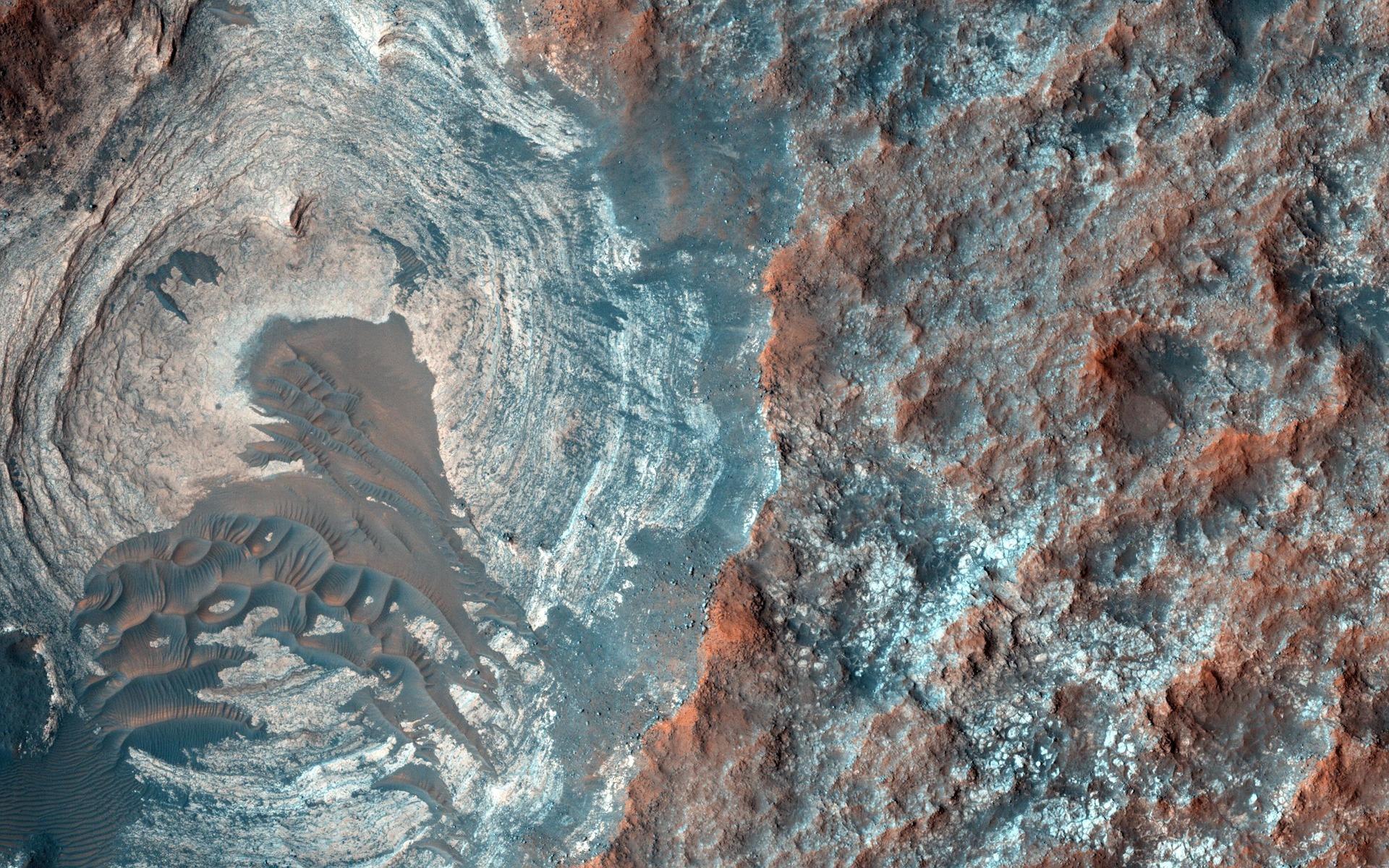 vista aérea, Rocas, montanhas, Terra, cores - Papéis de parede HD - Professor-falken.com