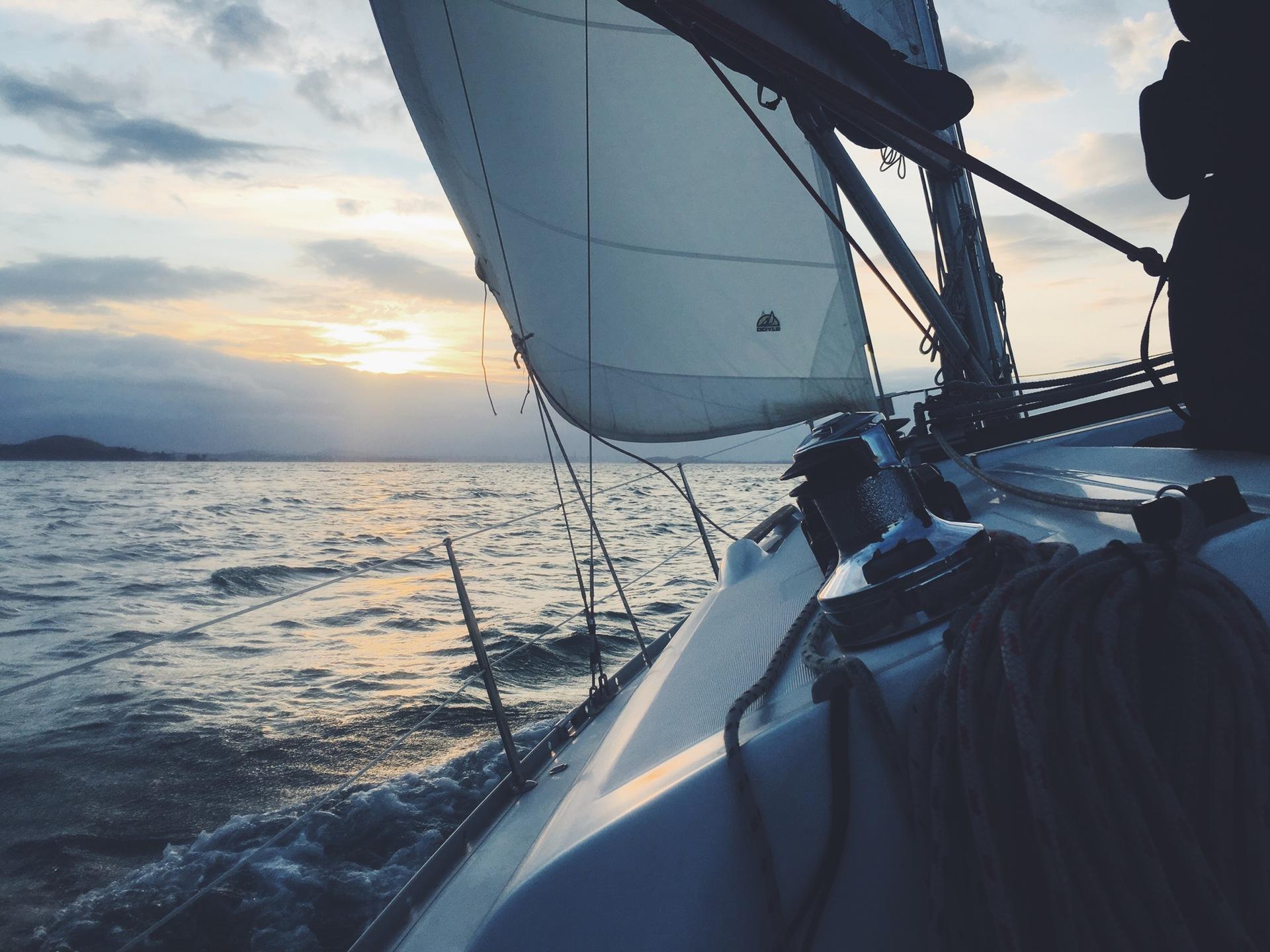 ヨット, mar, [参照],海o, クルーズ - HD の壁紙 - 教授-falken.com