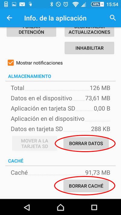 कैश को साफ़ करें और Android में किसी अनुप्रयोग से डेटा को हटाने के लिए कैसे - छवि 3 - प्रोफेसर-falken.com