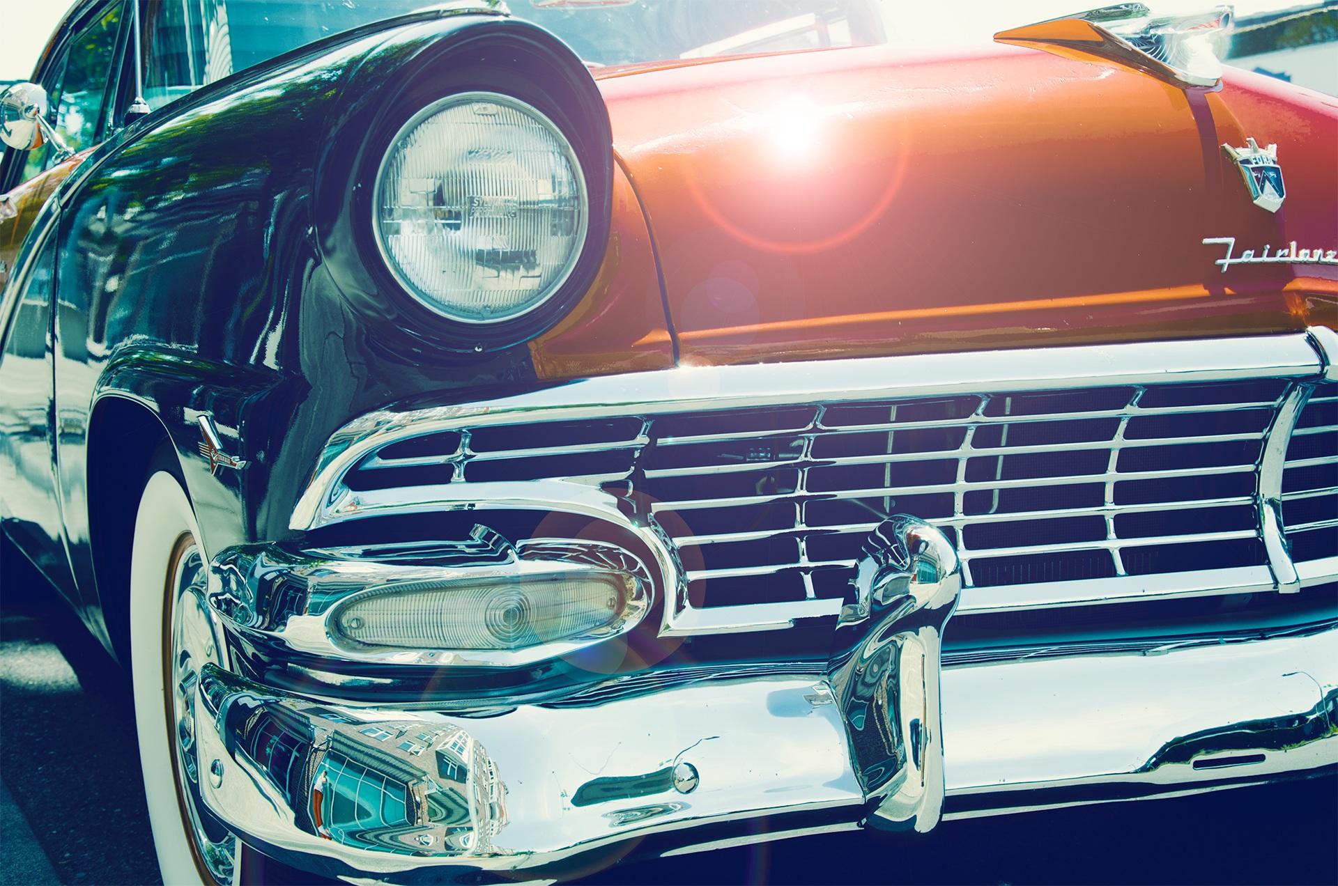 автомобиль, Старый, Классик, Винтаж, Форд - Обои HD - Профессор falken.com