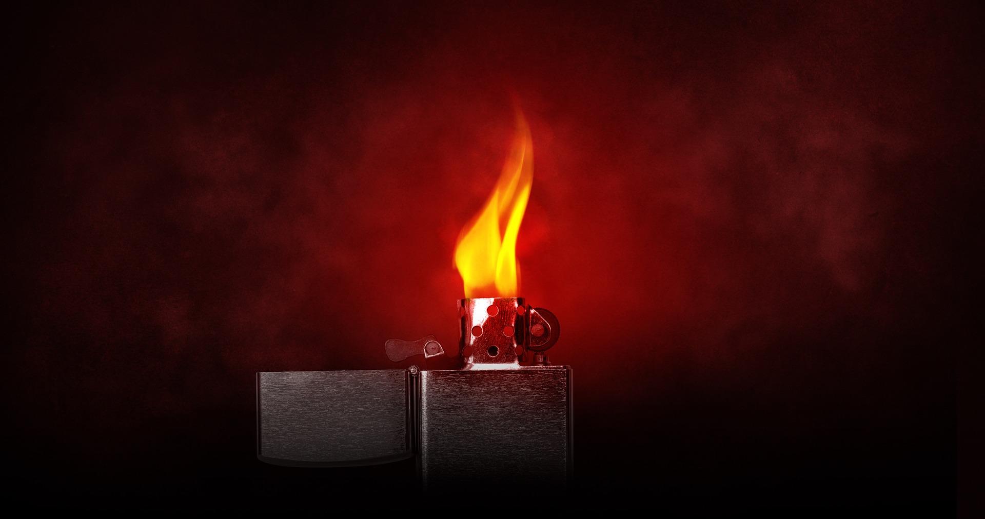 più leggero, accendisigari, chiamato, fuoco, calore, Zippo - Sfondi HD - Professor-falken.com