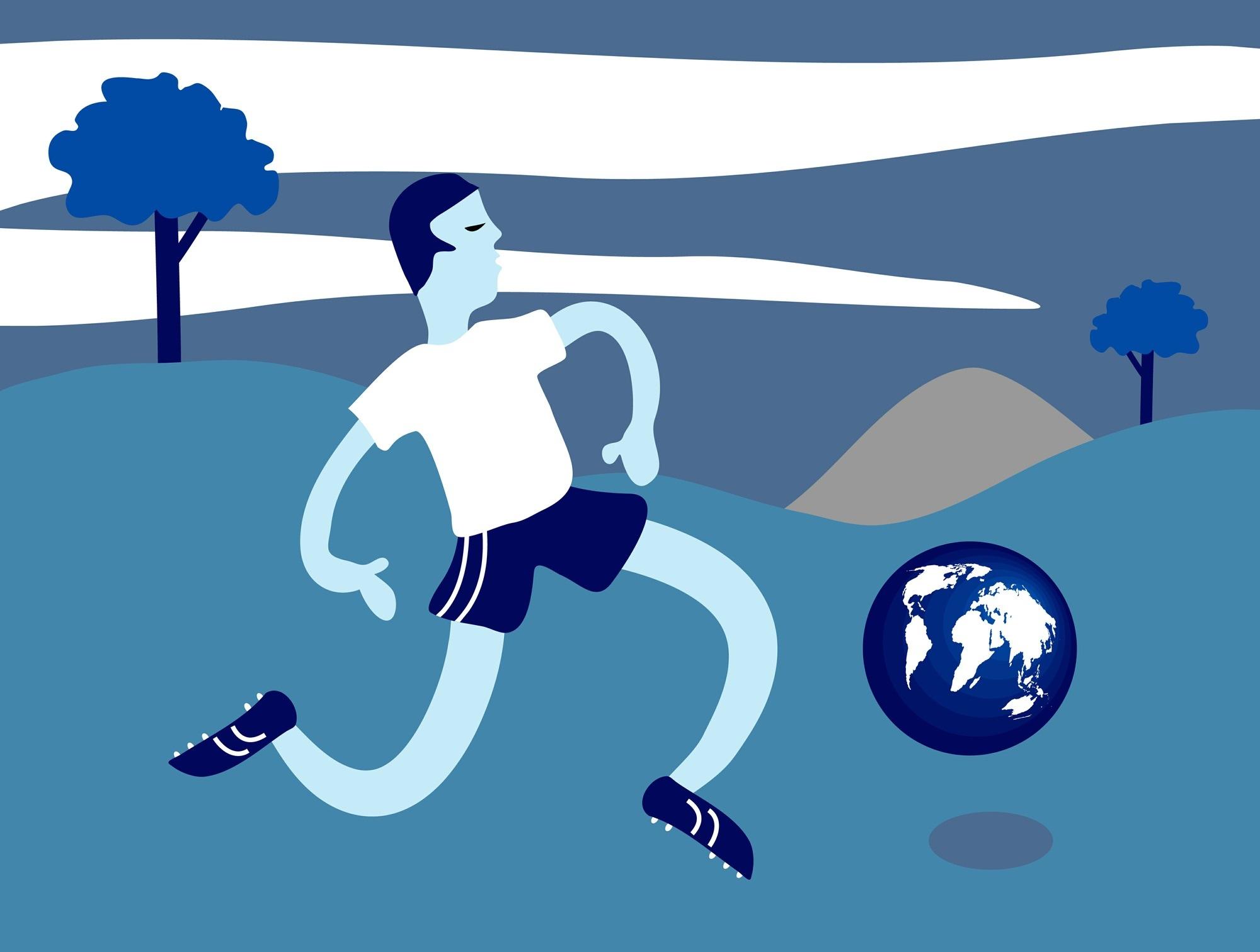 человек, Футбол, Земля, воздушный шар, игра - Обои HD - Профессор falken.com