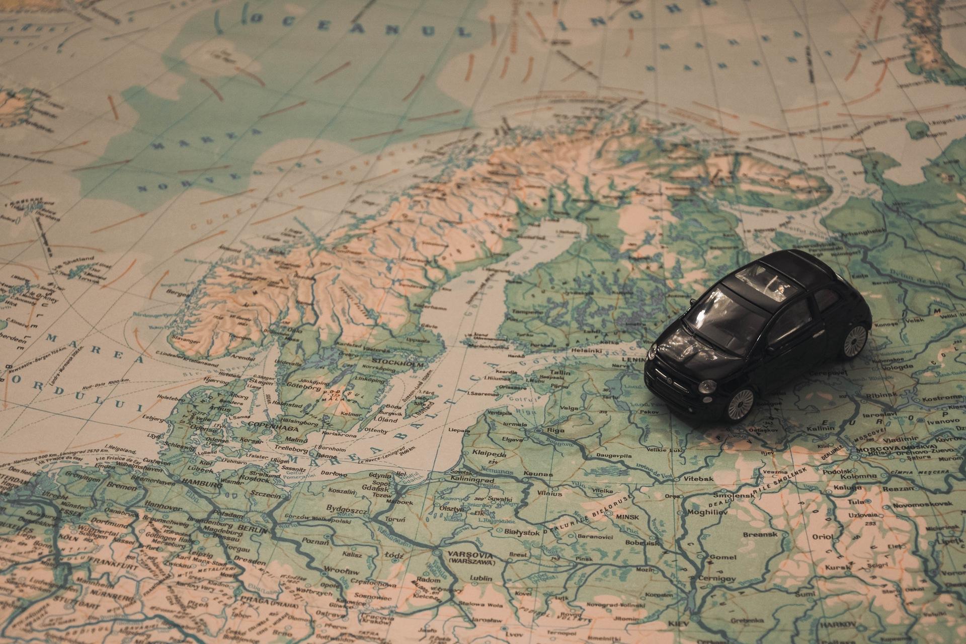 地図, 車, ルート, 冒険, 旅行, グッズ - HD の壁紙 - 教授-falken.com
