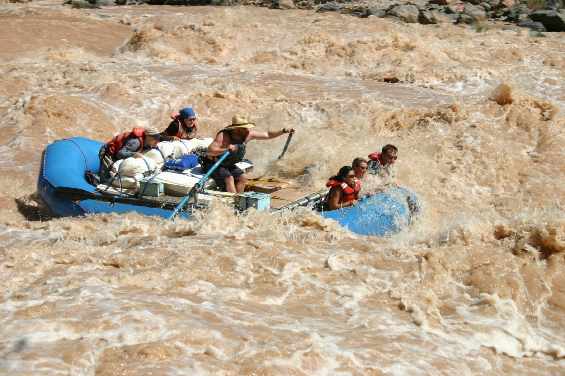 Fluss, schnell, Rafting, Colorado River, Risiko - Wallpaper HD - Prof.-falken.com