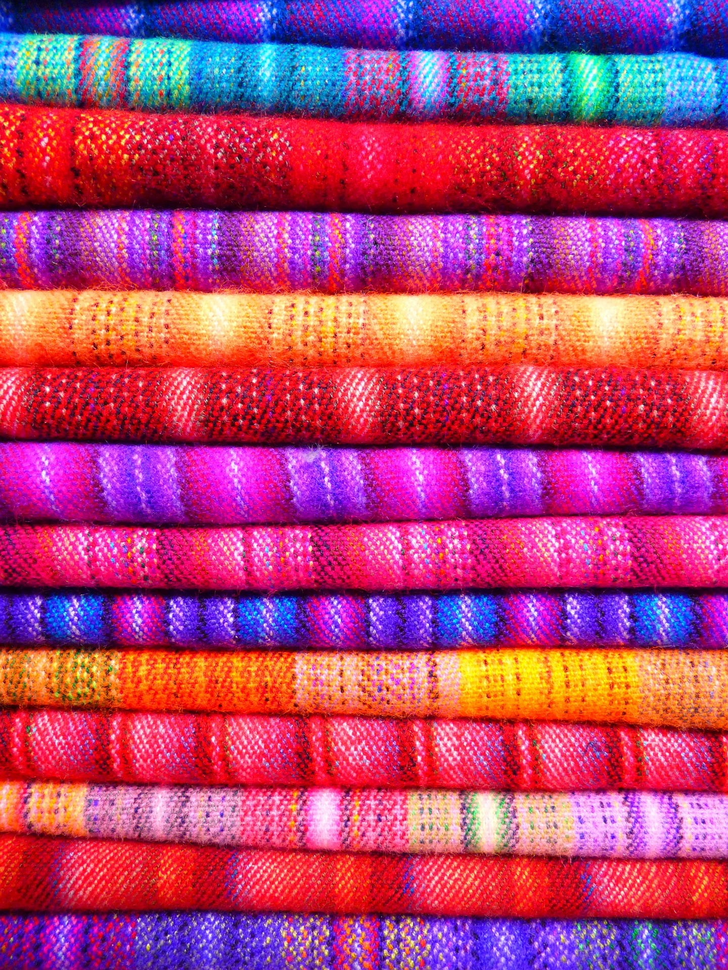 tissus, couleurs, teints, vêtements, définit - Fonds d'écran HD - Professor-falken.com