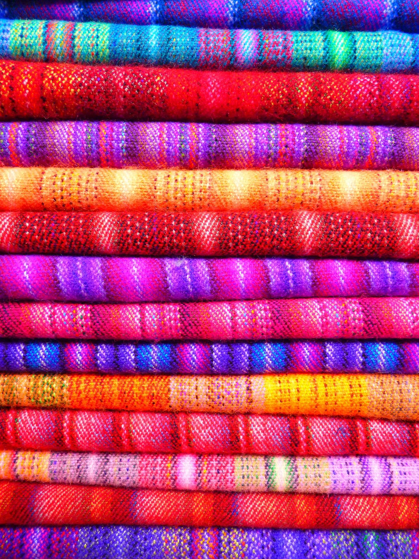 Stoffe, Farben, gefärbt, Kleidung, legt fest - Wallpaper HD - Prof.-falken.com