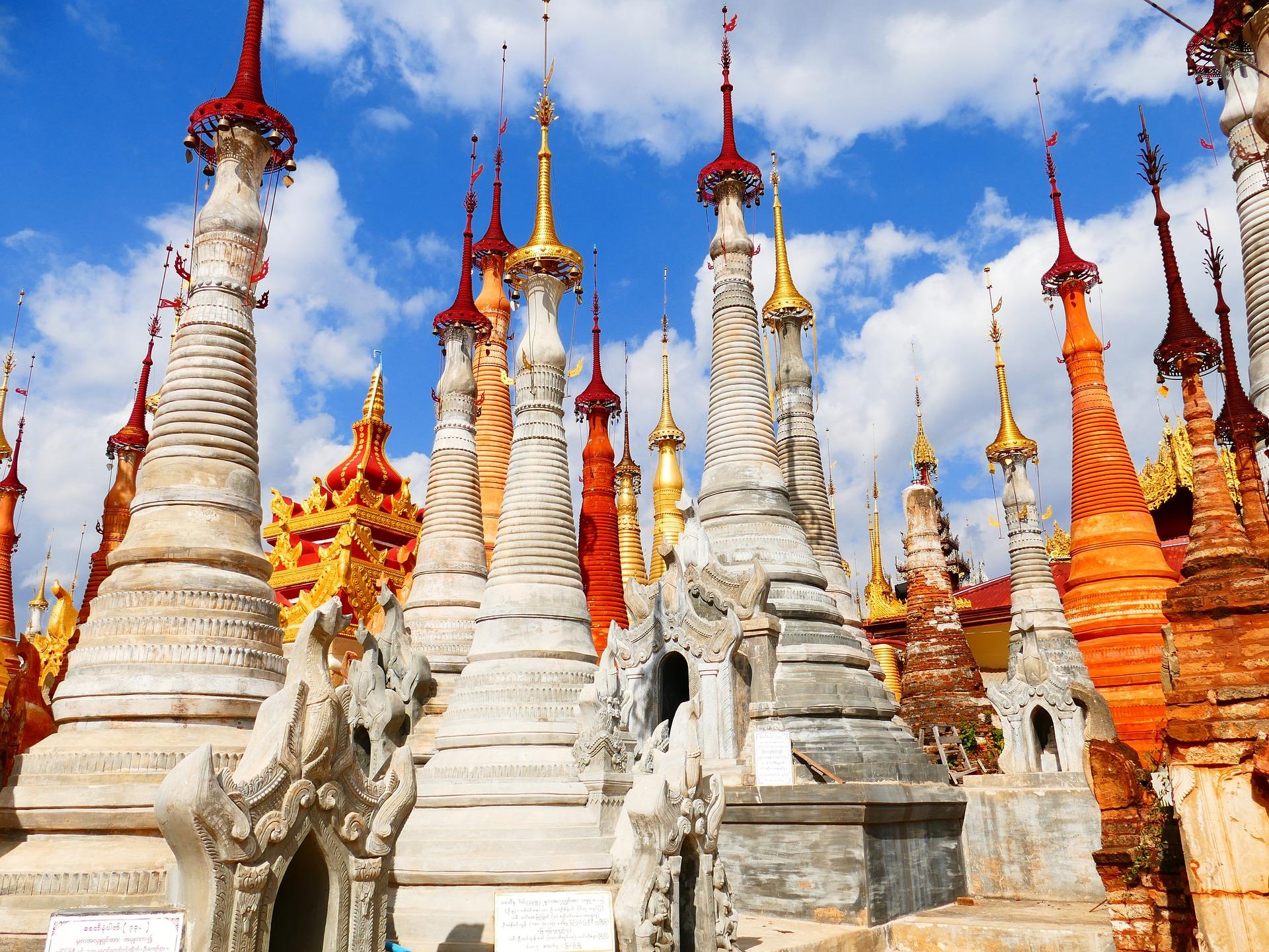 Tempel, Myanmar, Burma, Pagode, Stupa - Wallpaper HD - Prof.-falken.com