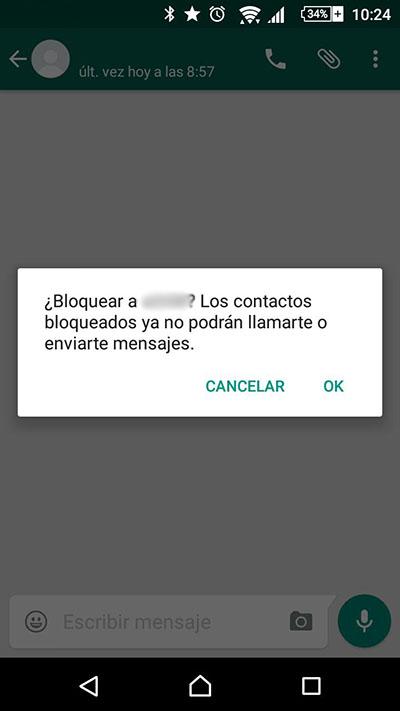 Como bloquear / desbloquear um contato do WhatsApp - Imagem 3 - Professor-falken.com