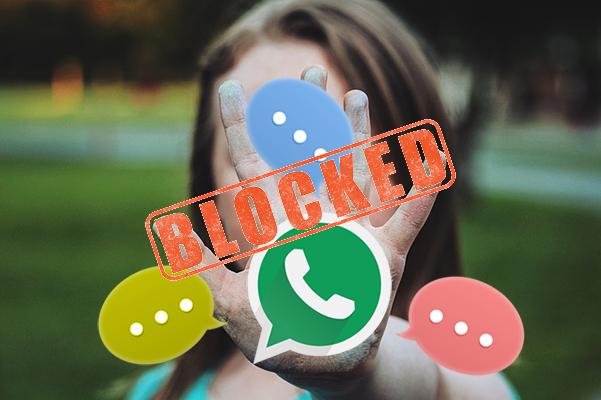 Comment bloquer / débloquer un contact WhatsApp