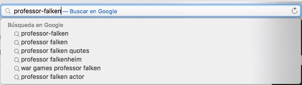 Cómo desactivar las sugerencias del buscador Safari en OS X - Image 1 - professor-falken.com