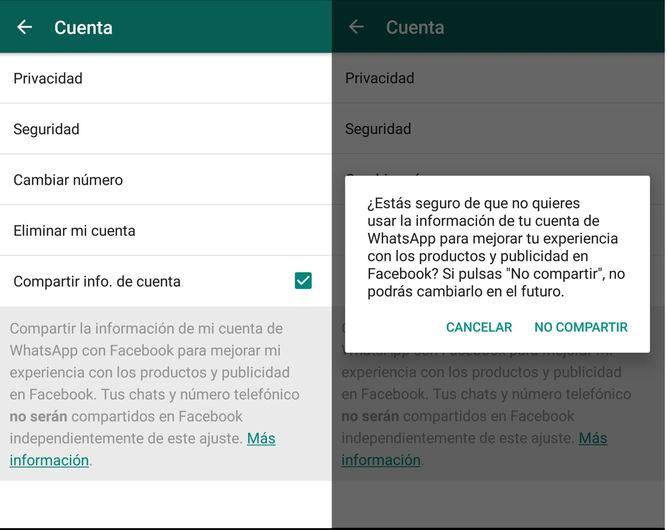 كيفية تجنب WhatsApp لمشاركة البيانات الخاصة بك مع فيسبوك - الصورة 3 - أستاذ falken.com