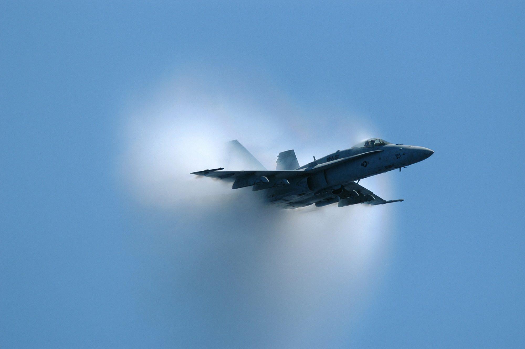 avion, barrière, son, Vitesse, explosion - Fonds d'écran HD - Professor-falken.com